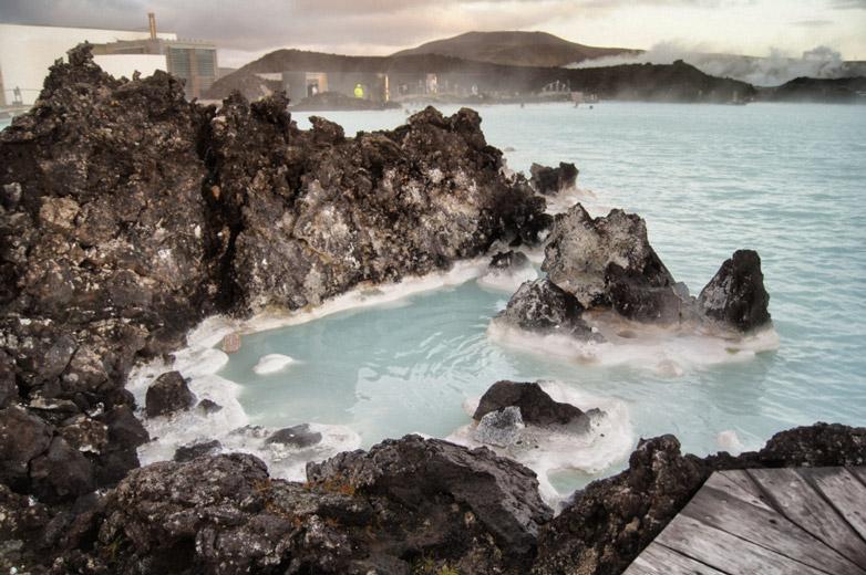 blaues-Wasser-Island