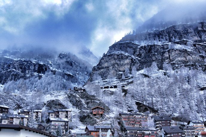Nebel-Winter-Zermatt