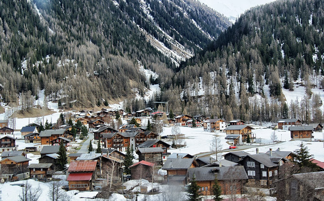 Zermatt-Winter