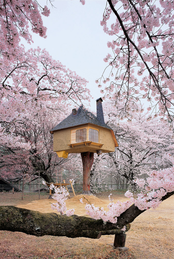 Baumhaus-Japan