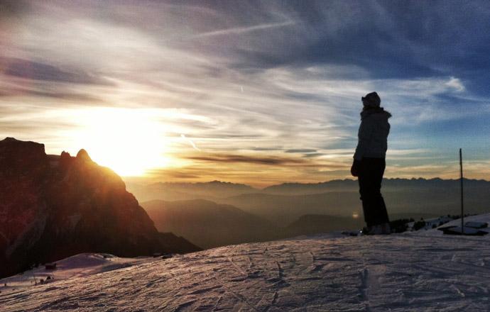 Berge-Aussicht