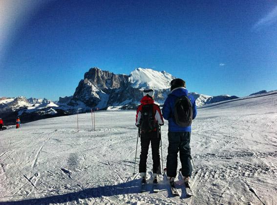 Hochalm-Skifahren-Seiser-Alm