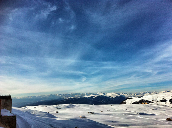 Panorama-Seiser-Alm