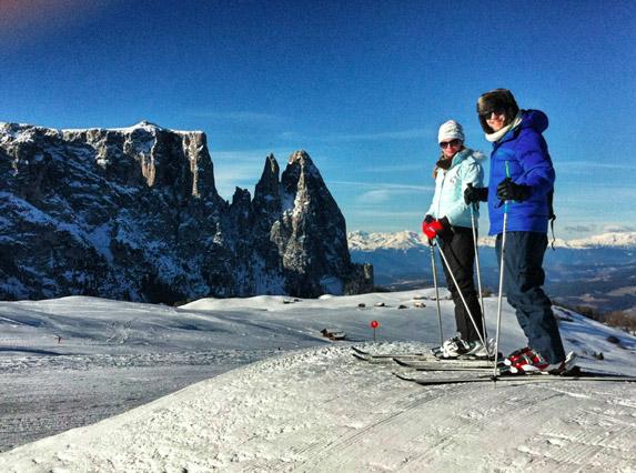 Skifahren-in-Südtirol