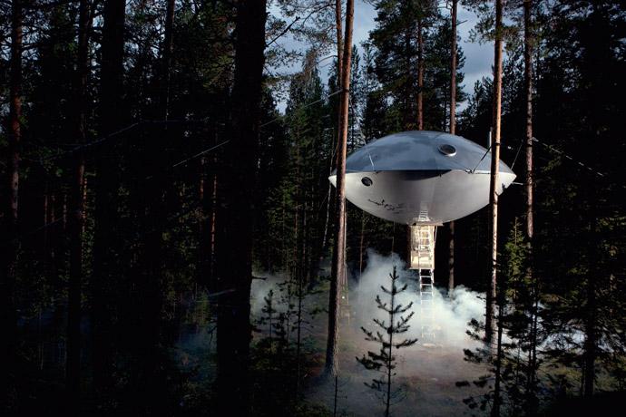Ufo-Baumhaus