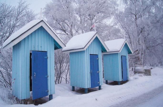 Umkleidekabinen-Finnland