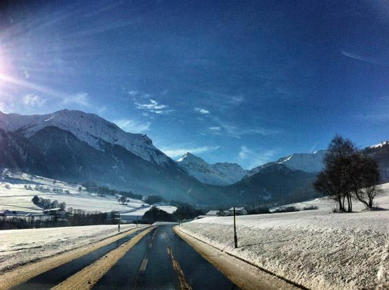 Berge-Schweiz