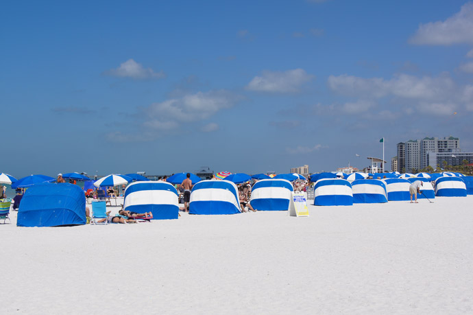 Clearwater-Beach-Sonnenschutz