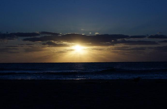Miami-Beach-Sonnenuntergang