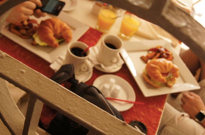 Miami-South-Beach-Frühstück