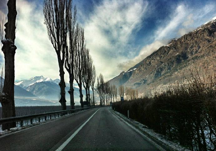Roadtrip über die Berge