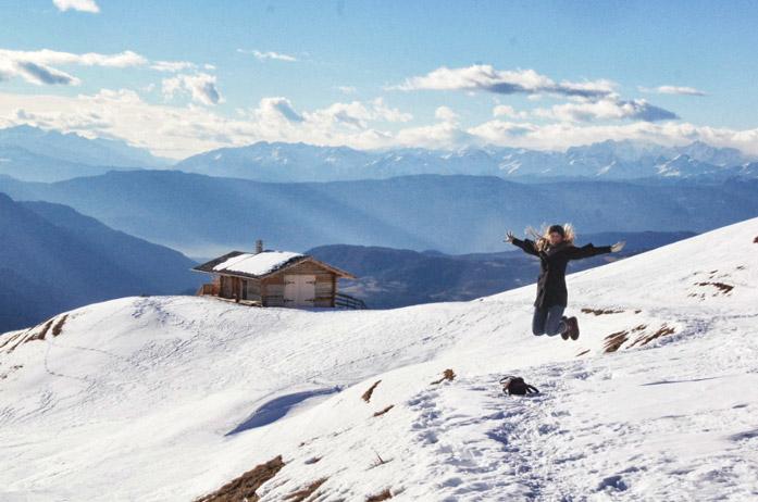 Schneelandschaft-Seiser-Alm