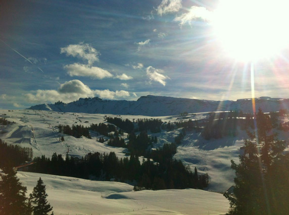 Seiser-alm-Winter