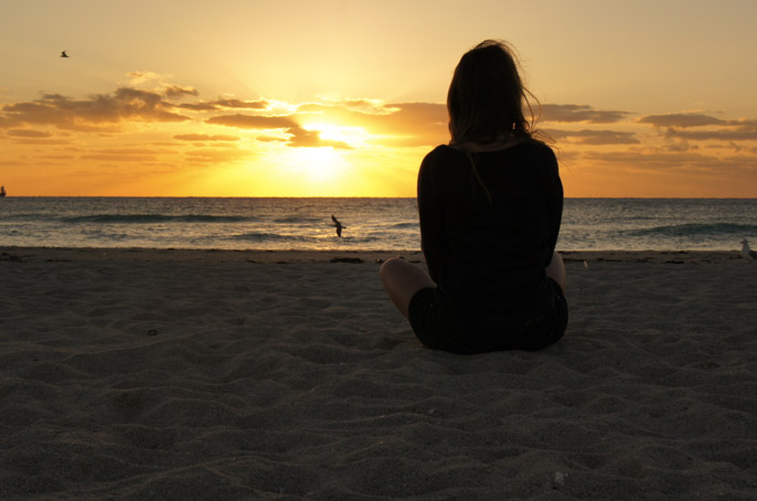 Sonnenaufgang-Miami