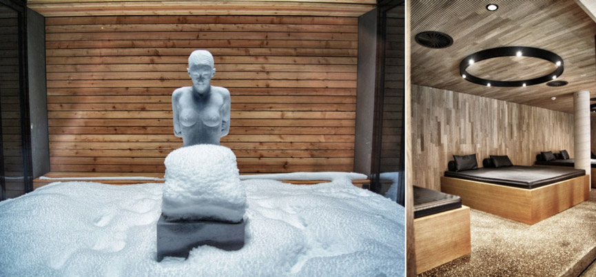 Winter-Skulptur