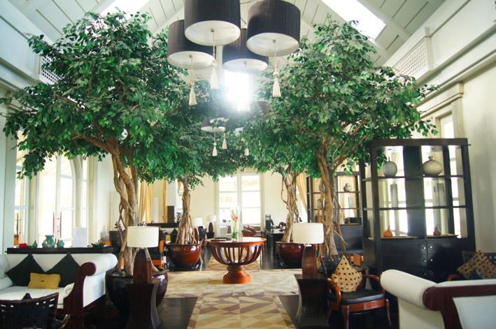 Banyan-Tree-Seychelles-Eingangshalle