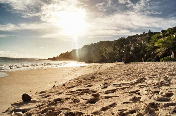 Seychellen-Traumstrand