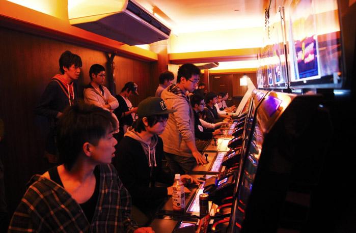 Spielautomaten-Tokio