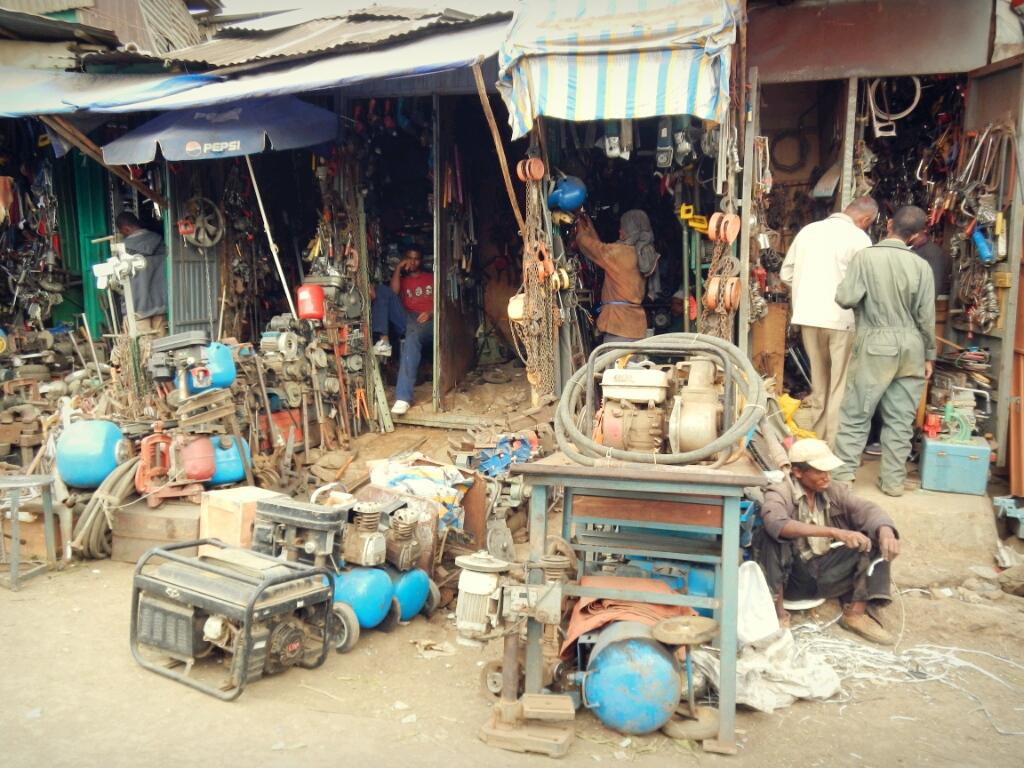 Äthiopien-Addis-Mercato