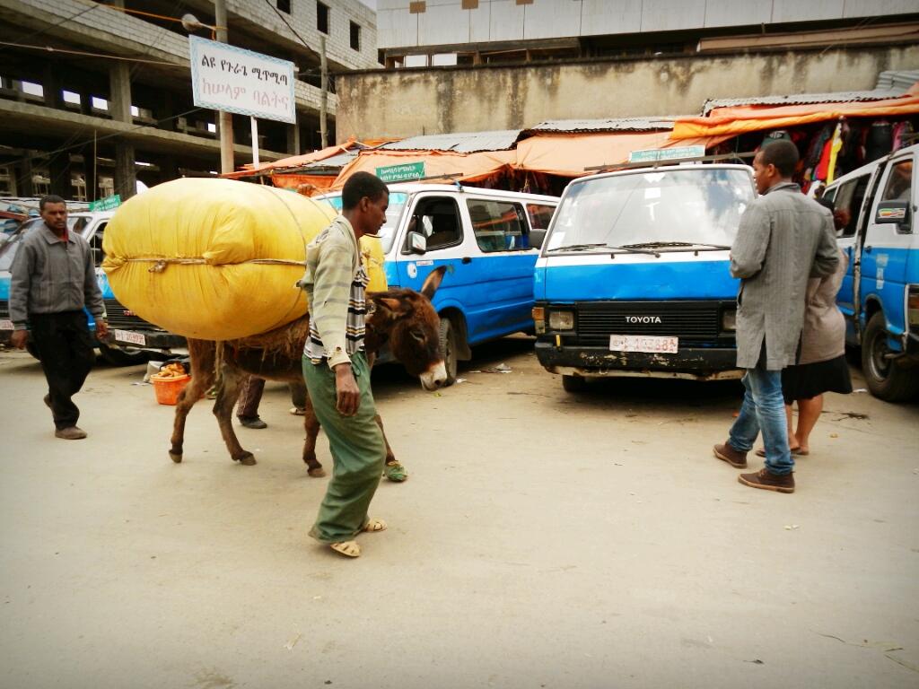Addis-Abeba-Äthiopien-Mercato-Afrika