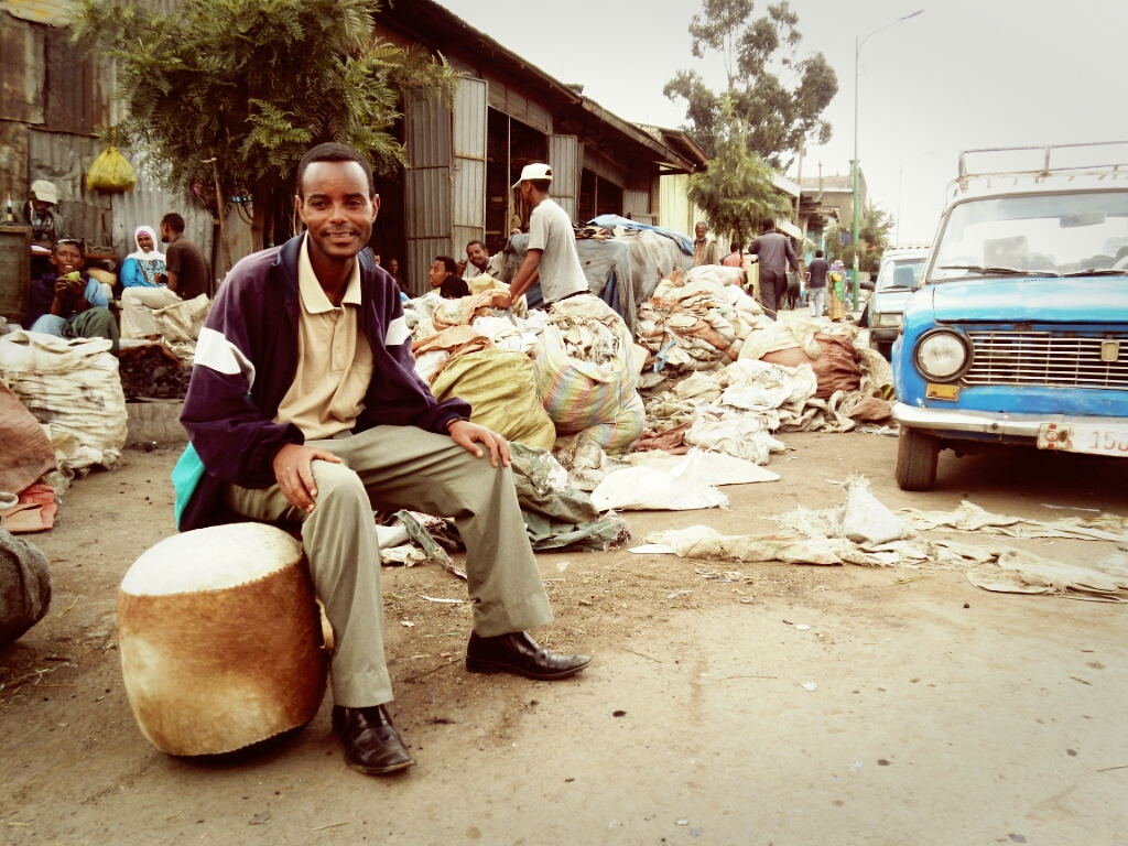 Addis-Abeda-Mercato