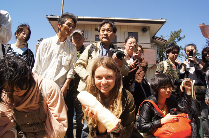 Christine-Neder-das Penis Festival Kanamara Matsuri in Japan