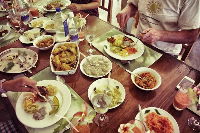 Creolisches-Essen