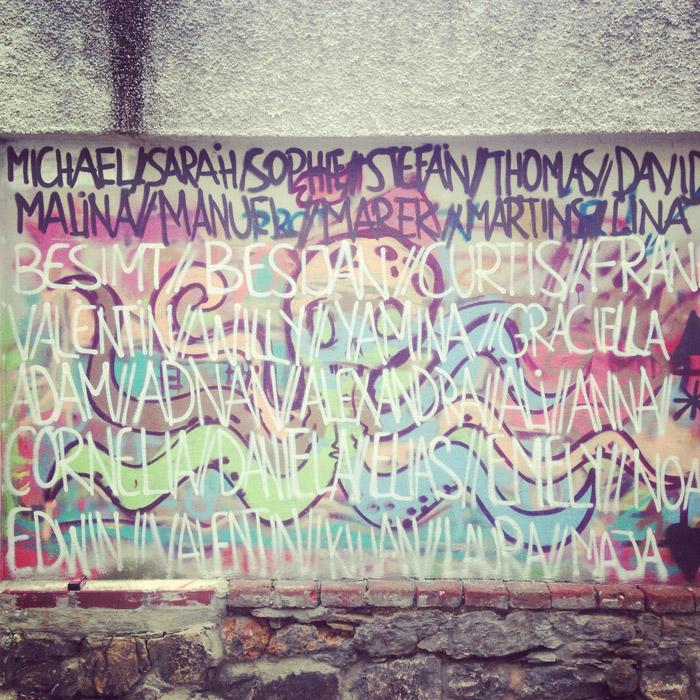 Graffiti-Graz