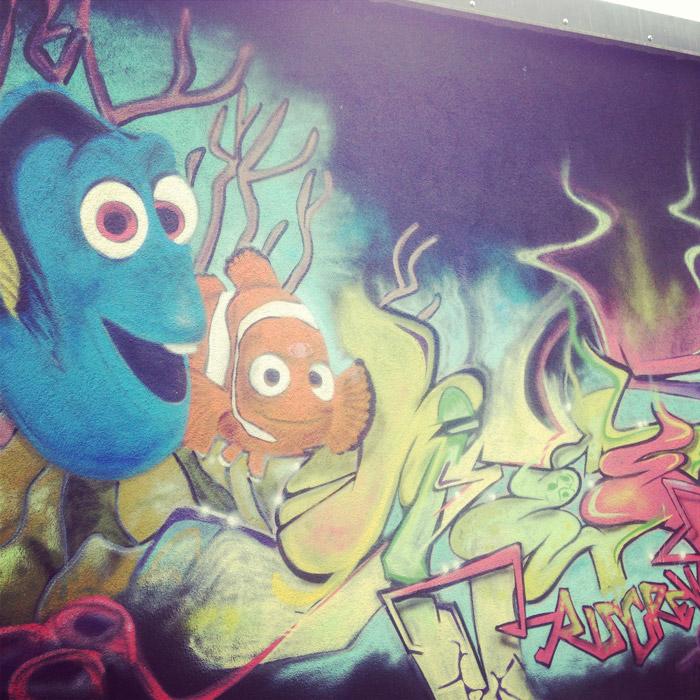 Graffiti-Nemo