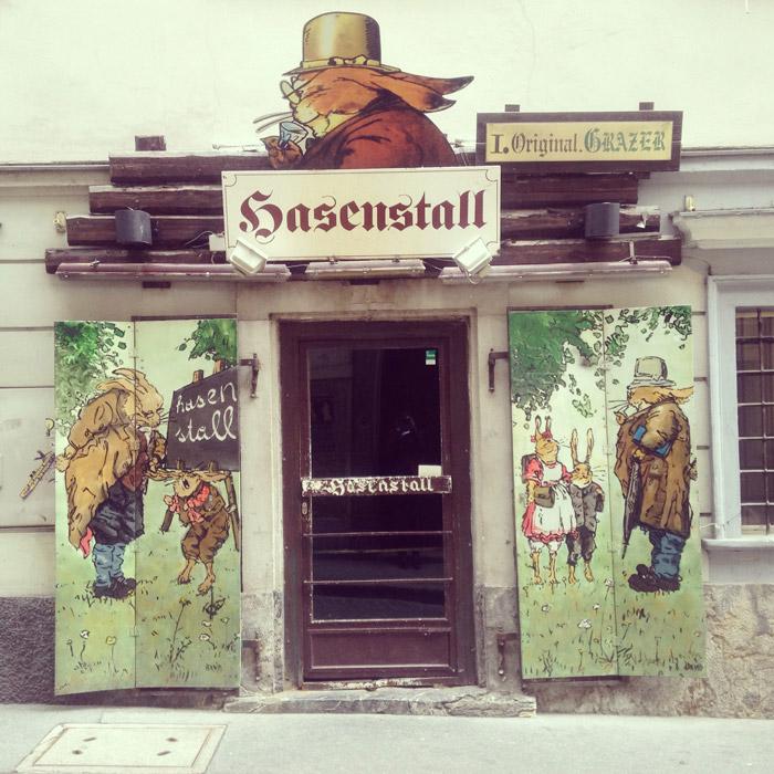 Hasnestall-Graz-Kneipe