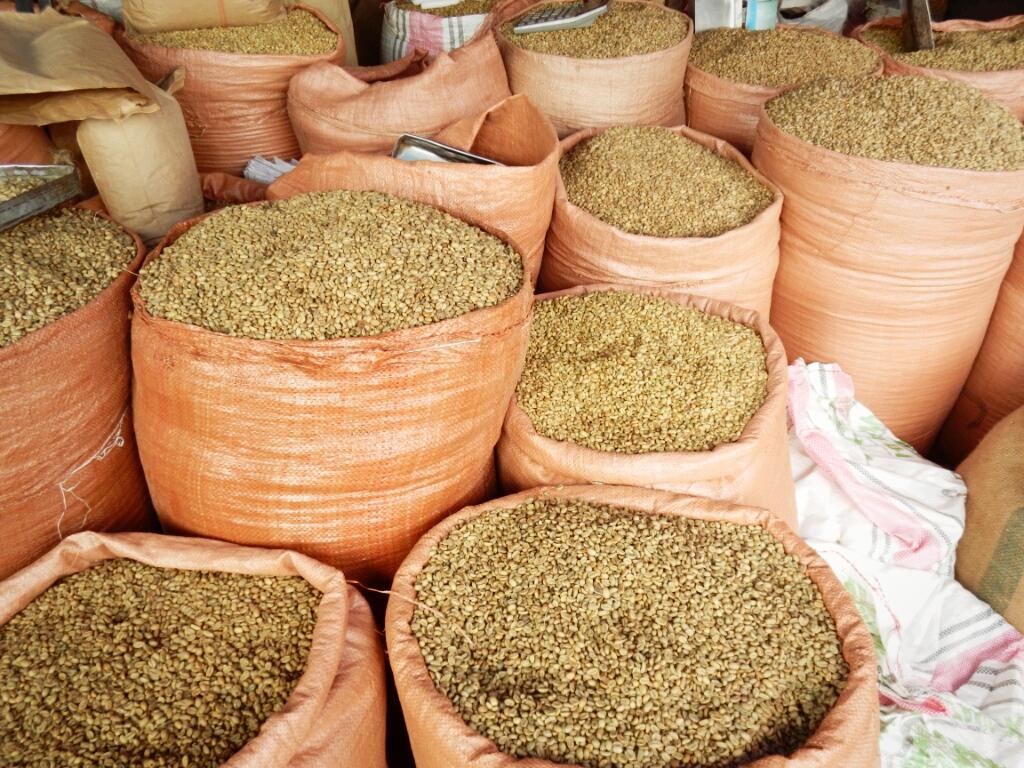 Kaffe-Addis-Abeba-Äthiopien