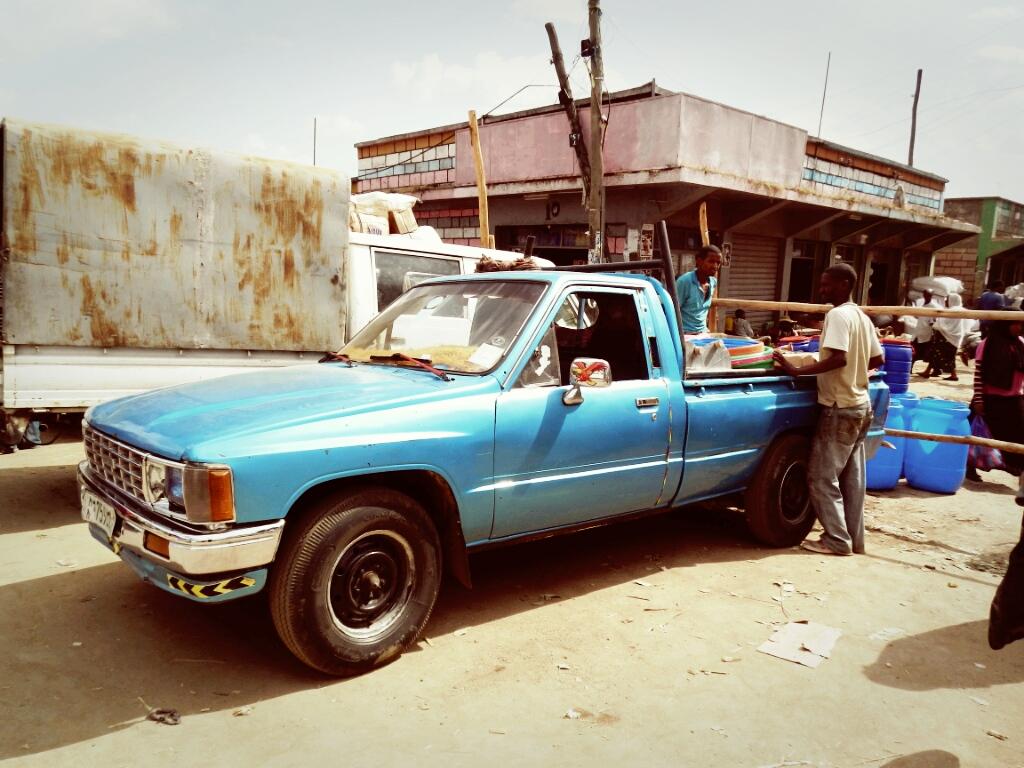Markt-Addis-Äthiopien