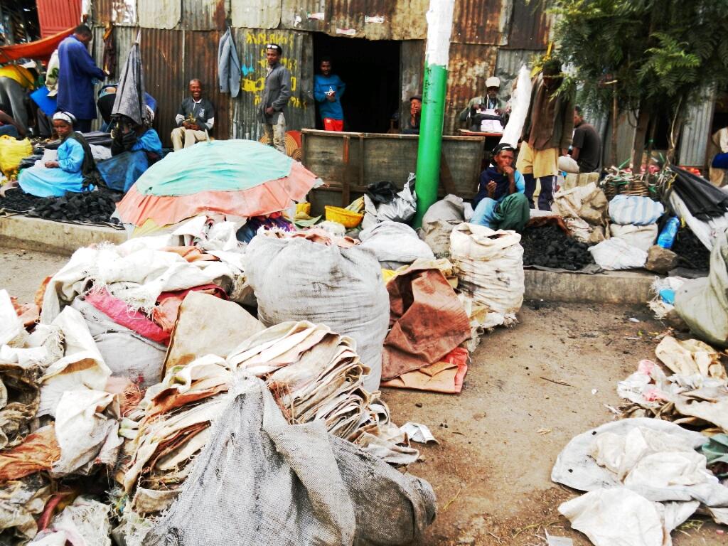 Markt-in-Äthiopien