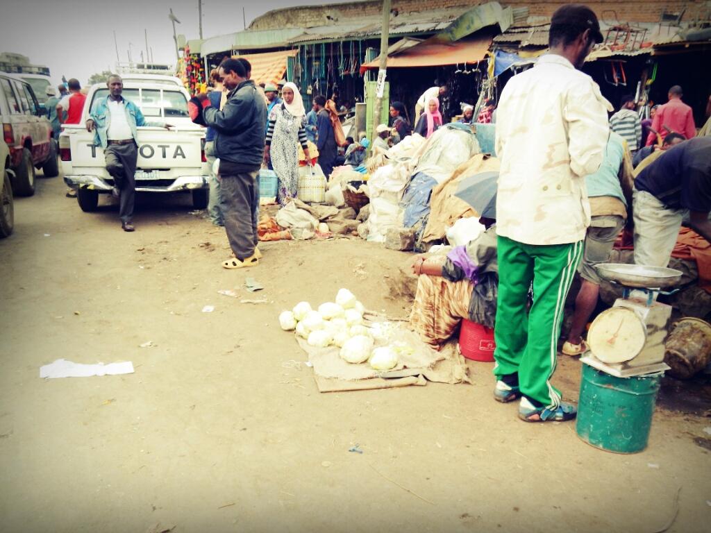 Mercato-Addis-Abeba-Äthiopien