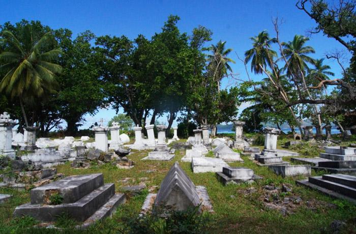 Seychellen-Friedhof