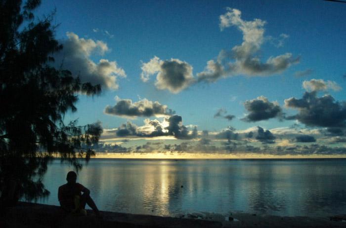 Sonnenaufgang-Seychellen