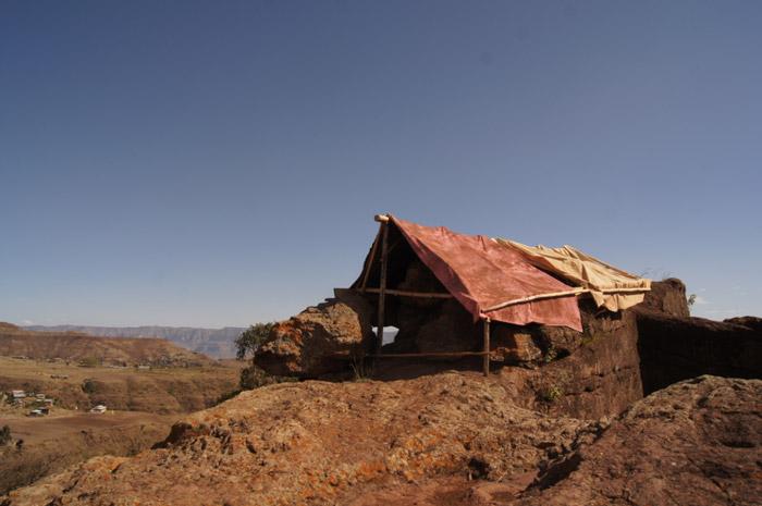 Äthiopien-Landschaft