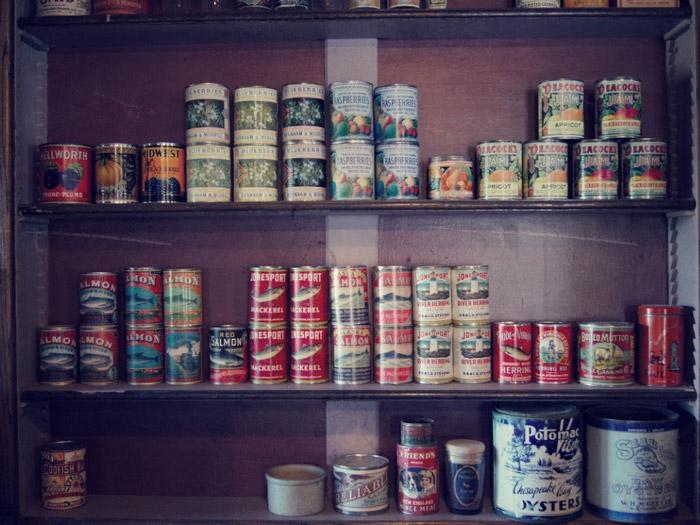 Antike-Lebensmitteldosen