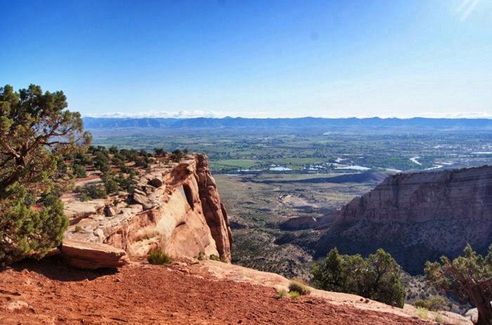 Aussicht-Colorado-Monument