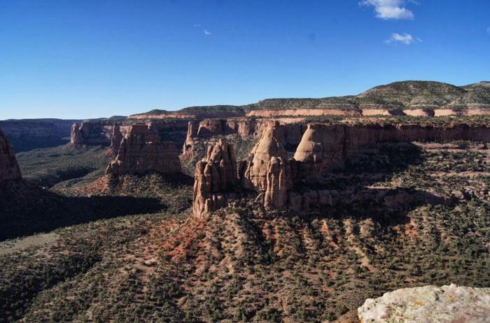 Berge-Amerika-Colorado-Monument