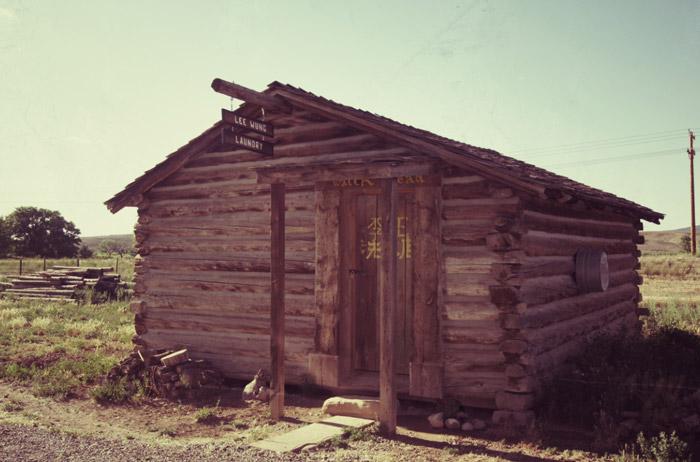 Colorado-Holzhütte