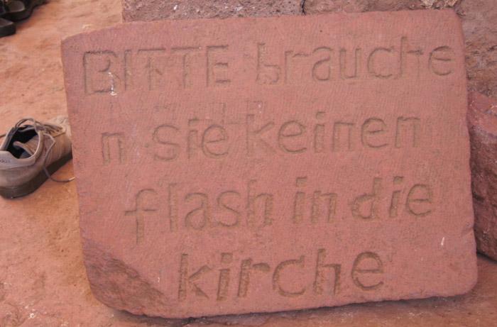 Lalibela-Deutsche-Schrift