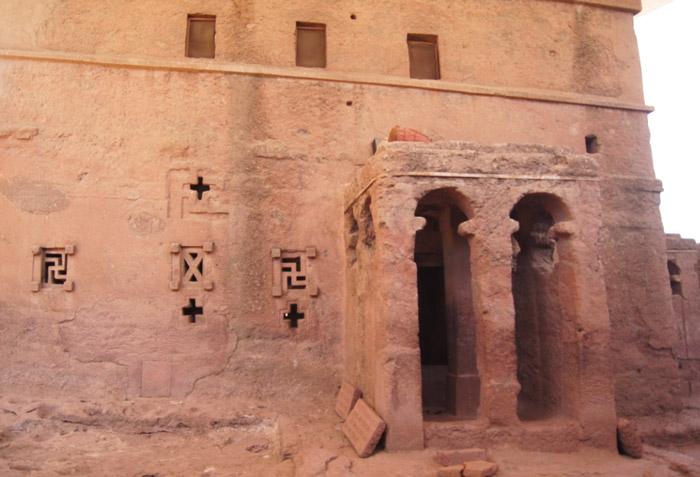 Lalibela-Heiligtum