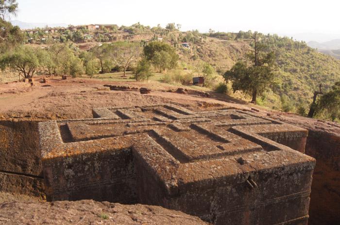 Lalibela-UNESCO-Weltkulturerbe-Felsenkirchen