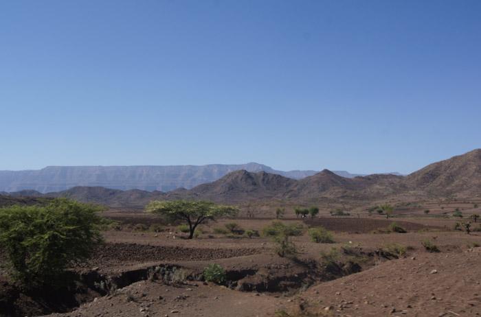 Landschaft-Äthiopen-Nodern