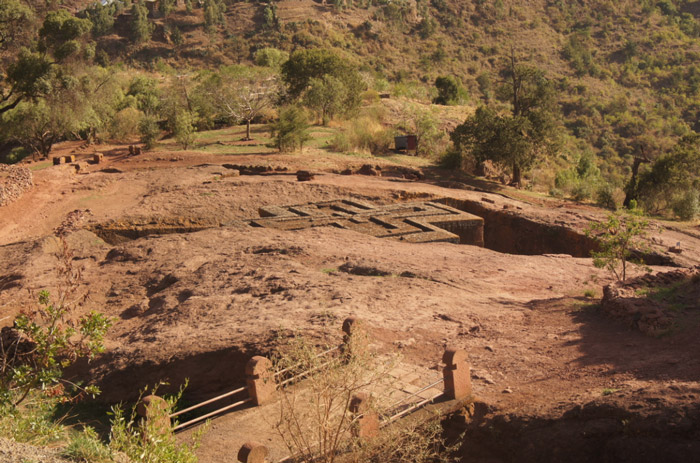 Landschaft-Lalibela-UNESCO-Weltkulturerbe