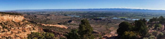 Panoramablick-Colorado-Monument