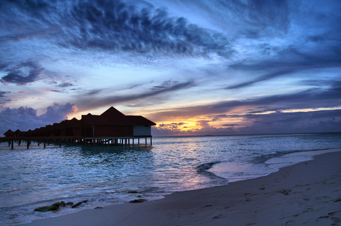 Sonnenaufgang-Robinson-Club-Maledives