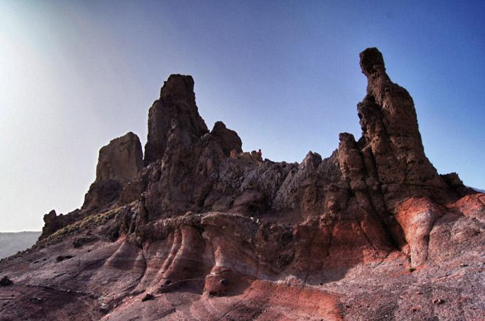 Vulkangestein-Teneriffa