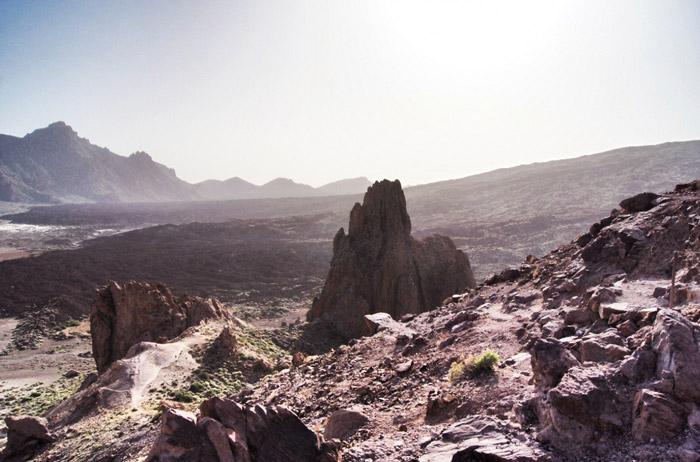 Vulkanlandschaft-Teneriffa